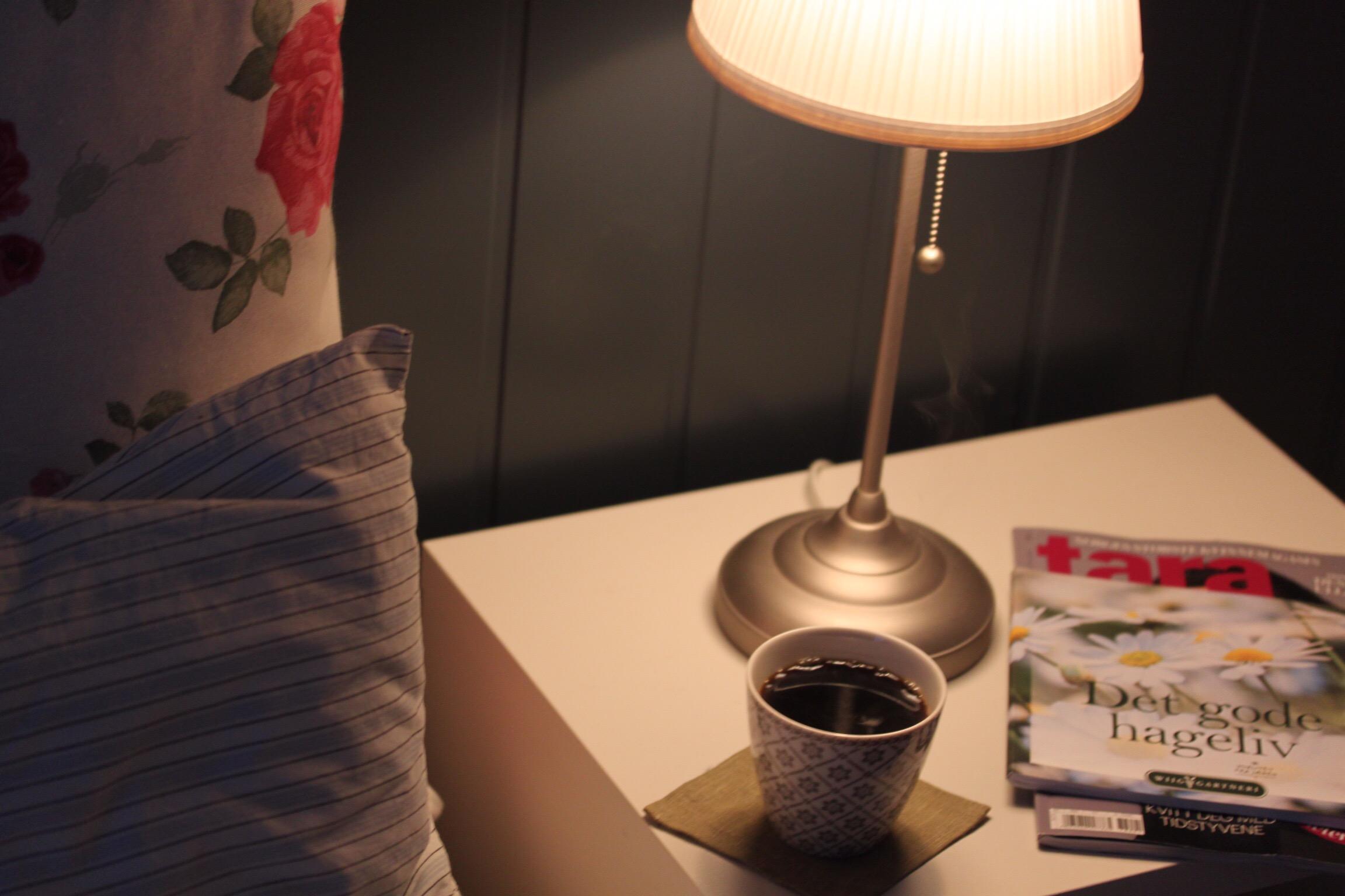 e5e83a22 Det er så stille og rolig, ikke en lyd, og jeg har allerede laget meg en  stor og god kopp varm og sterk kaffe.
